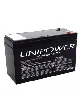 Bateria Unipower 7AH 12V Compatec