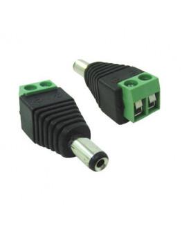 CONECTOR P4 MACHO C/5PCS
