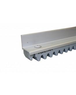 Cremalheira Alumínio Fosco 1,50M Giltar