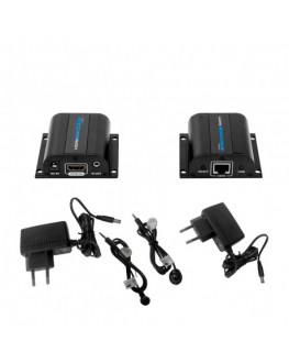 EXTENSOR HDMI-CABO UTP 30MTS - IEK