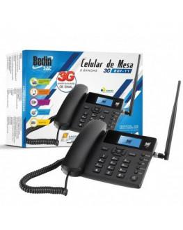 Celular de Mesa Quadriband 3G Sat BDF11 BedinSat